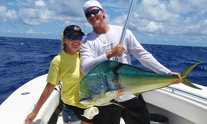 Getchasome Charters - Bal Harbour: $75 for a Five-Hour Fishing Charter from Getchasome Charters in Bal Harbour ($160 Value)