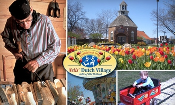 Nelis' Dutch Village - Holland: $18 for Two Admissions to Nelis' Dutch Village and $20 Worth of Authentic Dutch Cuisine at The Hungry Dutchman (Up to a $40 Value)