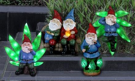 Pot-Smoking Garden Gnomes