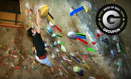 10 Passes (a $125 value) - The Crux Climbing & Bouldering in Calgary