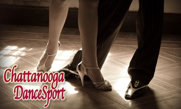 Chattanooga DanceSport - Chattanooga: $30 for Three Private Couples Classes ($140 Value) or $15 for Five Drop-In Group Classes ($50 Value) at Chattanooga DanceSport