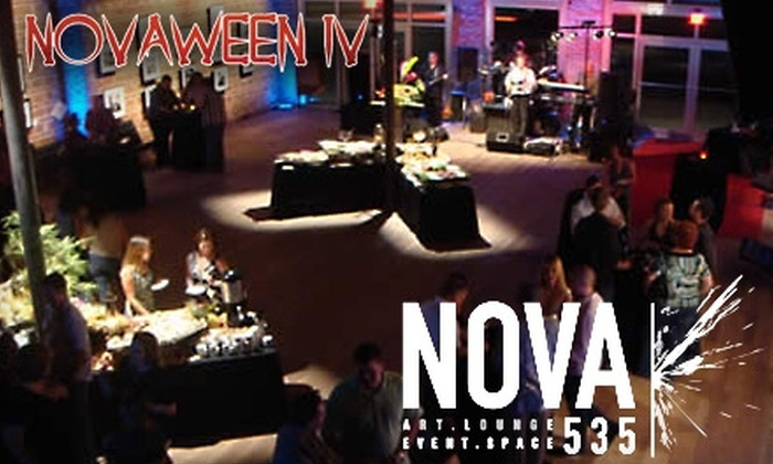 Nova 535 Unique Event Space's Novaween IV - Uptown: $12 for One Admission and a $20 Bar Tab at Nova 535 Unique Event Space's Novaween IV ($25 Value)