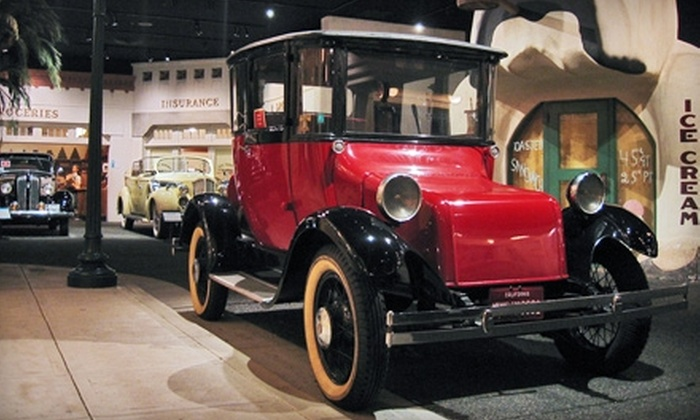 Petersen Automotive Museum - Mid-City West: $35 for One-Year Family Membership and Hot Wheels Truck at Petersen Automotive Museum ($79.95 Value)