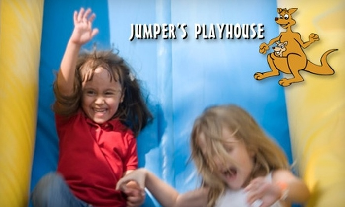 Jumper's Playhouse - Smyrna: $15 for Five Open-Jump Passes at Jumper's Playhouse (Up to $34.75 Value) in Smyrna