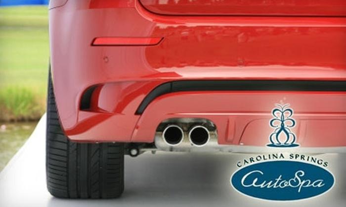 Carolina Springs AutoSpa Detail Shop - Cornelius: $62 for Basic Detail at Carolina Springs AutoSpa Detail Shop (Up to $125 Value)