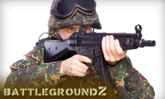 BattlegroundZ.net - Attleboro: $25 for All-Day Pass of Airsoft, Including Equipment Rental, at BattlegroundZ.net in Attleboro (Up to $55 Value)