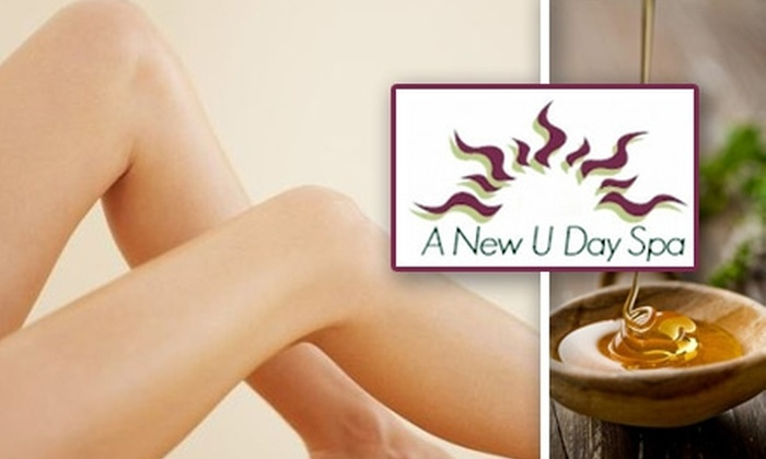 A New U Day Spa - Arrowhead Meadows Association: $22 for $45 Worth of Waxing Services at A New U Day Spa