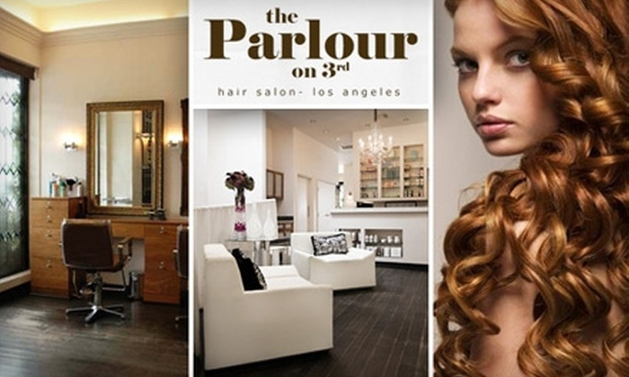 The Parlour on 3rd - Mid-City West: $25 for $55 Worth of Hair Services at The Parlour on 3rd