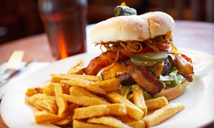 Dylan's Sports Bar and Grill - Arnold: $14 for Beers and Sandwiches for Two at Dylan's Sports Bar and Grill in Arnold (Up to $28.90 Value)