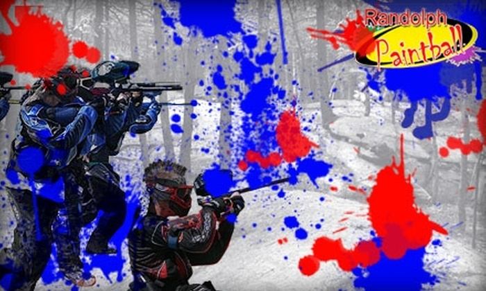 Randolph Paintball - Boston: $20 Paintball Outing With Equipment at Randolph Paintball ($35 Value)