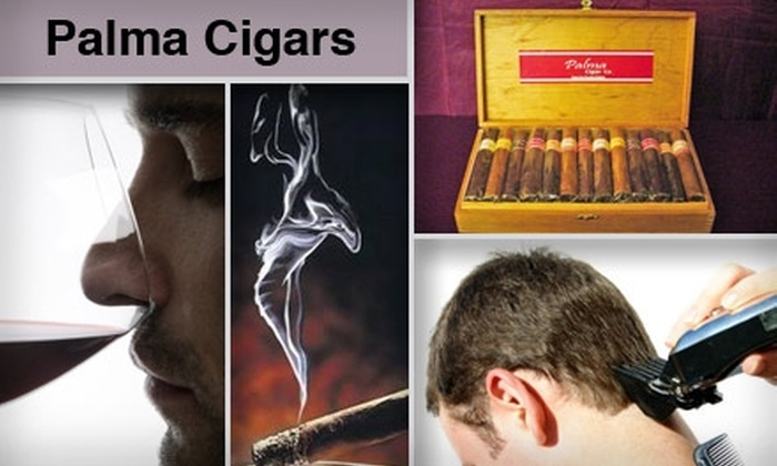 Palma Cigars - Five Points: $15 for $30 Worth of Quality Cigars, Wine, and Haircuts at Palma Cigars