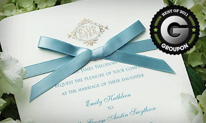 Mint Julep Paperie - Broadmoor Terrace,South Highlands Historic District: $15 for $30 Worth of Custom Stationery and Invitations at Mint Julep Paperie