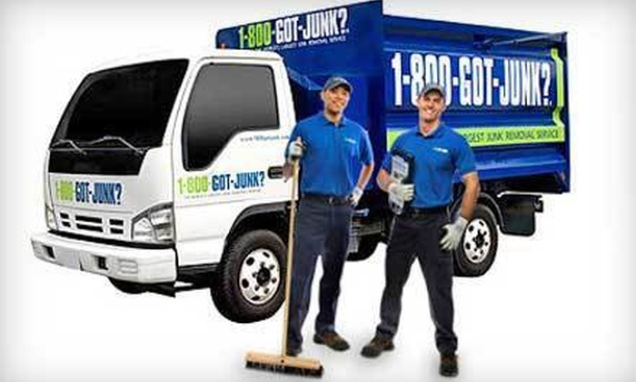 1-800-GOT-JUNK? - Downtown: $59 for 2 Cubic Yards of Junk Removal from 1-800-GOT-JUNK? ($152 Value)