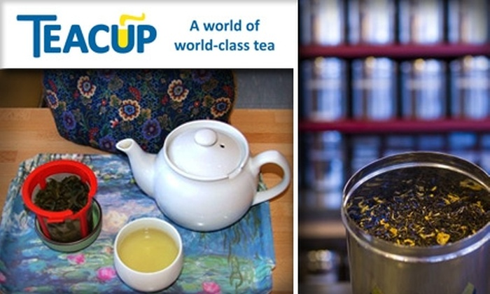 Teacup - Seattle: $10 for $20 Worth of Teas and Pastries at Teacup