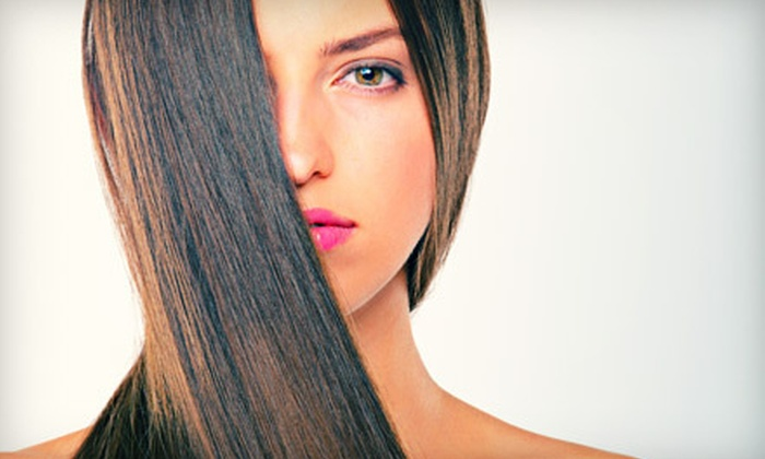 Profiles Hair Studio and Spa - Gaithersburg: $125 for a Simply Smooth Keratin Straightening Treatment at Profiles Hair Studio and Spa in Gaithersburg ($250 Value)