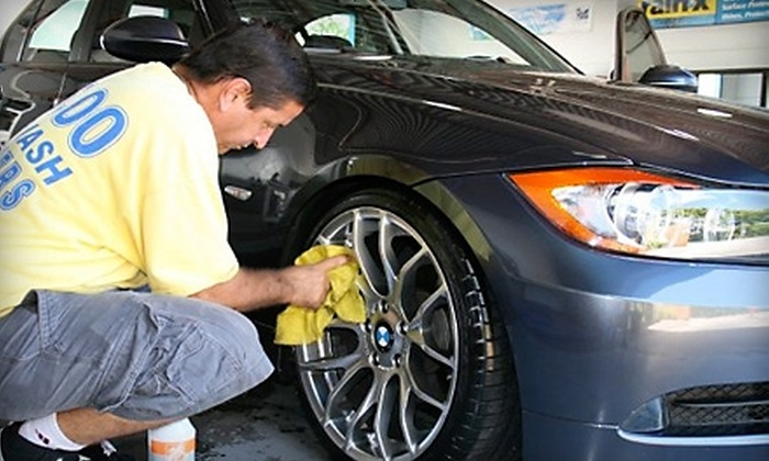 Cruizers Express Car Wash - Sarasota: Car Wash or Wax at Cruizers Express Car Wash in Sarasota. Three Options Available.