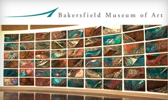 Bakersfield Museum of Art - Downtown Bakersfield: $15 for a One-Year Membership ($35 Value) or $5 for Two Day Passes ($10 Value) to the Bakersfield Museum of Art