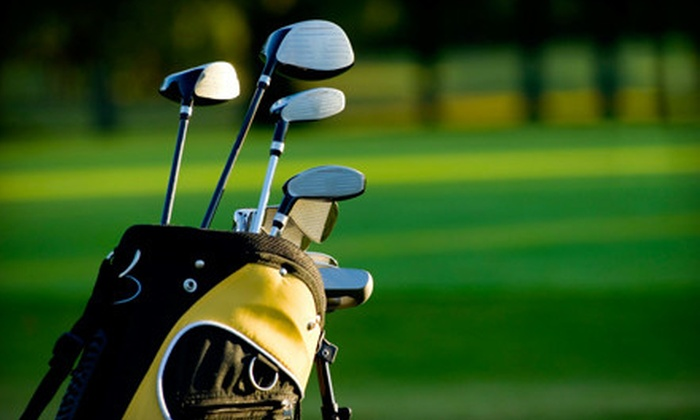 Sweet Swing Golf - Tucker: Private-Lesson Package, Private-Play Package, or Group Clinic Lessons at Sweet Swing Golf (Up to 77% Off)