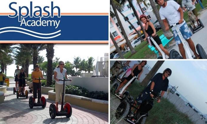 Splash Academy Miami - Downtown Miami: See Downtown Miami on a 90-Minute Segway Tour
