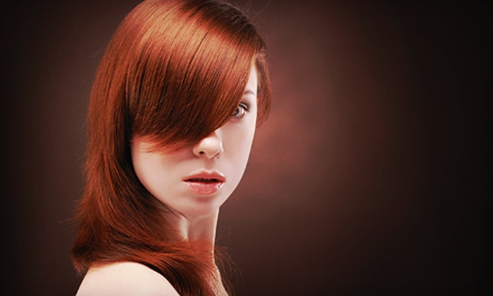 Pure and Healthy Hair Salon - Regent Center: Haircut, Blow-Dry, and Style with Option of a Single-Process Color at Pure and Healthy Hair Salon in Irving (Up to 56% Off)