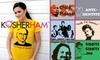 Kosher Ham - Hampton Roads: $10 for $20 Worth of Witty T-Shirts and Hoodies from Kosher Ham