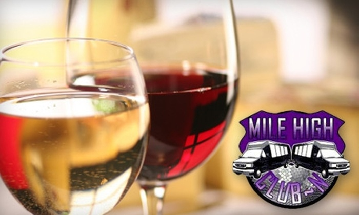 Mile High Club-N - Sun Valley: $49 for a Central City Casino Tour with Wine Tasting from Mile High Club-N ($130 Value)