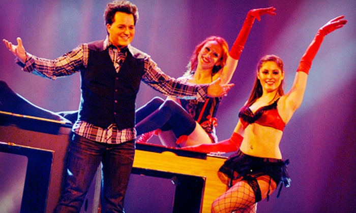 Michael Turco's Magic and Mayhem - The Strip: Outing to Michael Turco's Magic and Mayhem Variety Show at V Theater (Up to 72% Off). Four Options Available.