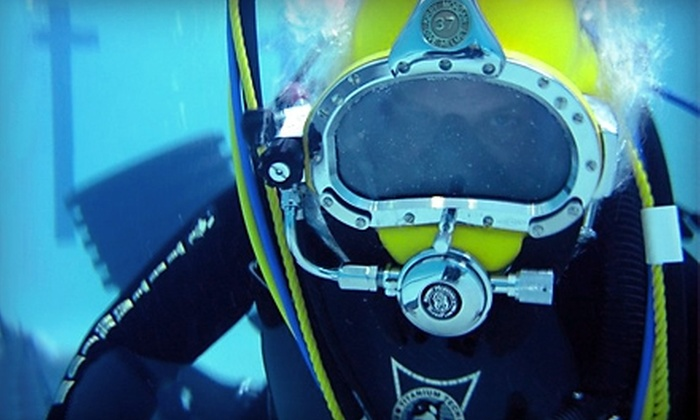 Sink or Swim Scuba - Lowell: $149 for an Open-Water Scuba-Certification Course ($300 Value) and 10% Off Equipment at Sink or Swim Scuba in Gastonia
