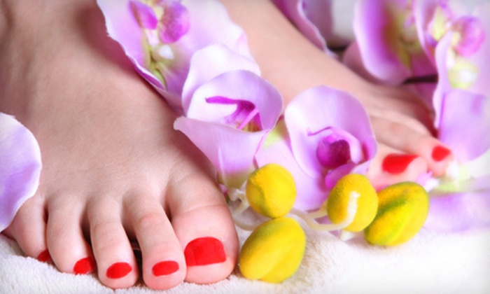 Pro Nails & Hair Fashion - Northern San Diego: $14 for a Signature Pedicure or a Spa Mani-Pedi at Pro Nails & Hair Fashion (Up to $29 Value)