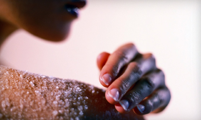 Pandora Salons - Carrollwood: One or Two Full-Body Sugar Scrubs at Pandora Salons (Up to 55% Off)