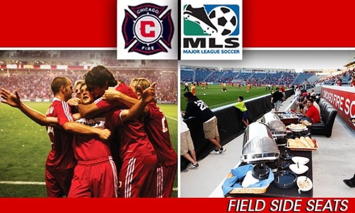 Chicago Fire - Bedford Park: Chicago Fire Tickets, Buy Here for $99 FieldSide 'On The Pitch' Seats vs. DC United on 8/29 at 7:30 p.m. (Party Deck & Other Dates Below)