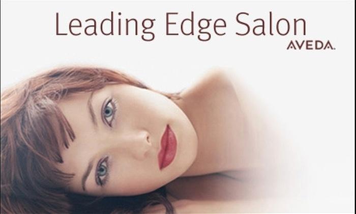 Leading Edge Salon - Downtown Santa Rosa: $79 for $160 Worth of Express Services at Leading Edge Salon