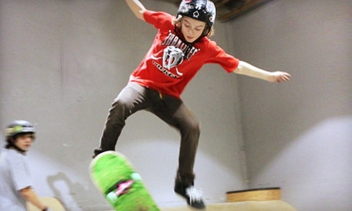 Ripzu Skatepark - Northeast Hazel Dell: All-Day Skate Session or Lessons at Ripzu Skatepark in Vancouver, WA. Three Options Available.