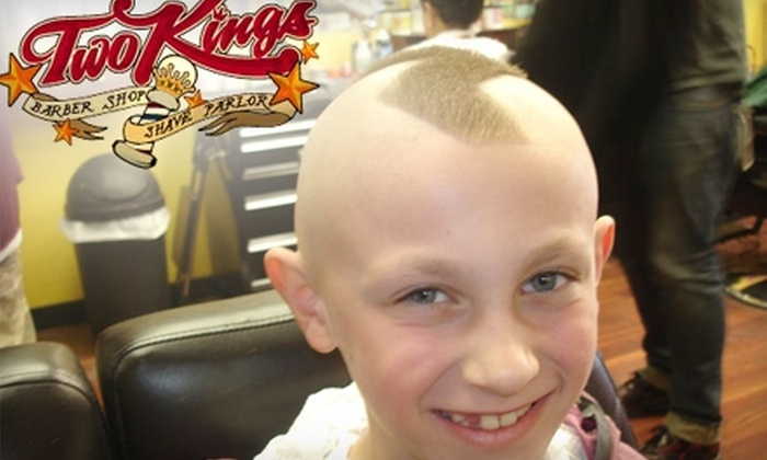 Two Kings Barbershop and Shave Parlor  - Smithtown: $14 for a Haircut and a Straight-Razor and Hot-Towel Shave at Two Kings Barbershop and Shave Parlor ($28 Value)