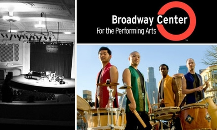 Broadway Center for the Performing Arts - New Tacoma: $19 Ticket to Ōn Ensemble at the Broadway Center's Rialto Theater on Friday, May 28, 2010, at 7:30 p.m. ($40 Value)