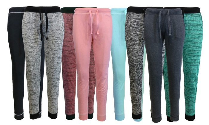 Women's Marled Pajama Pants