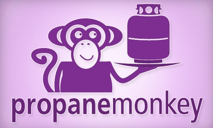 Propane Monkey - Birmingham: $12 for a Propane Grill Tank Exchange and Delivery from Propane Monkey