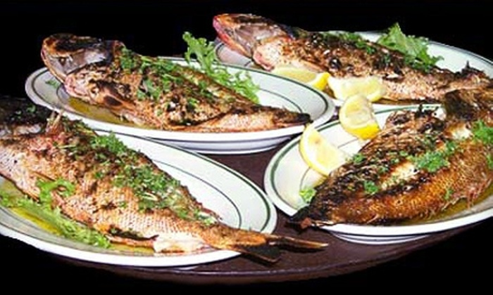 Ikaros Restaurant - Fifteenth Street: $15 for $30 Worth of Authentic Greek Cuisine and Drinks at Ikaros Restaurant