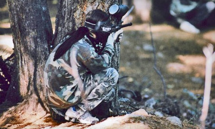 Victoria Paintball Adventures - Victoria: $22 for a Paintball Day with Gear Rental and 100 Paintballs at Victoria Paintball Adventures ($44.80 Value)