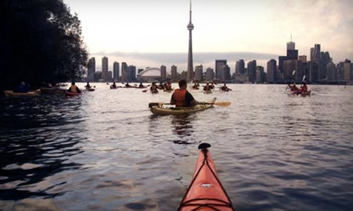 Harbourfront Canoe and Kayak Centre - Downtown Toronto: Kayak and Canoe Tour of the Toronto Islands from Harbourfront Canoe and Kayak Centre. Two Options Available.