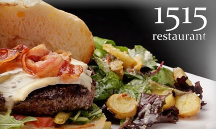 1515 Restaurant and Lounge - Vista Hills Park: $15 for $35 Worth of Contemporary American Fare at 1515 Restaurant and Lounge