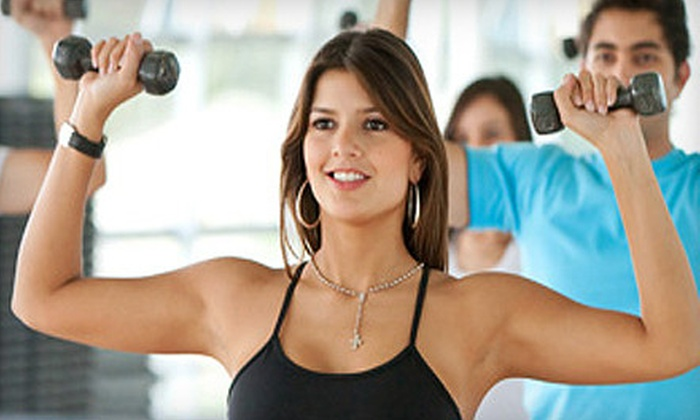 California Family Fitness - Multiple Locations: $49 for a One-Month Family Membership with Personal Training and Tanning at California Family Fitness (Up to $200 Value)