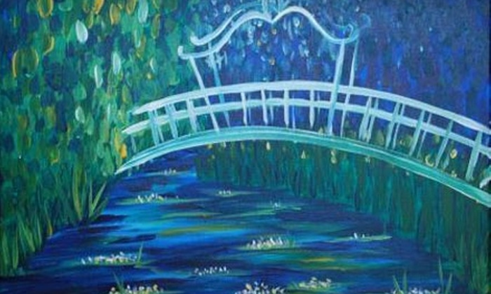 Artistic Abandon - Schuyler: $20 to Join a Painting Party (Up to $40 Value) with Artistic Abandon in Faber in Nelson County