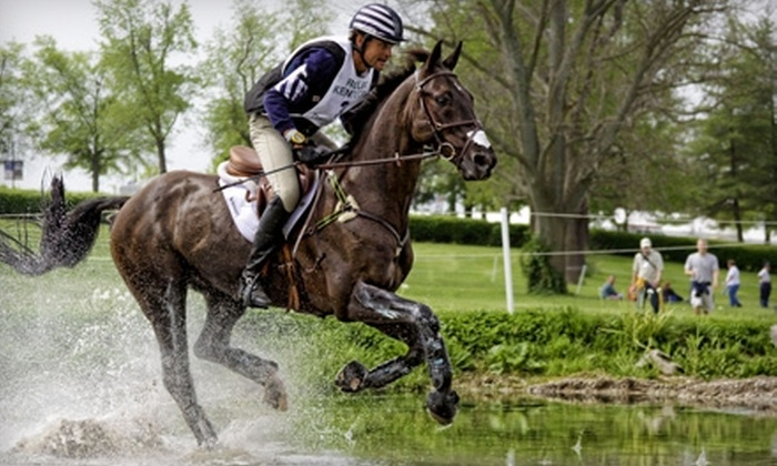 Rolex Kentucky Three-Day Event - Lexington-Fayette: $15 for a Saturday Ticket to the Rolex Kentucky Three-Day Event in Lexington