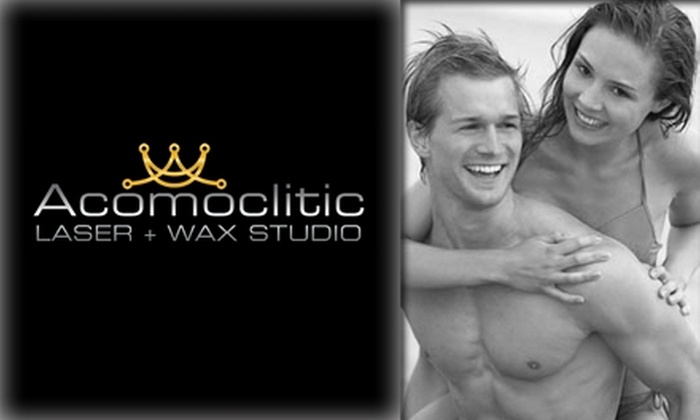 Acomoclitic Laser & Wax Studio - North Alameda: $30 for a Brazilian Wax for Men or Women at Acomoclitic Laser & Wax Studio (Up to $65 Value)