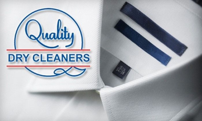 Quality Dry Cleaners - Multiple Locations: $15 for $35 Worth of Dry Cleaning at Quality Dry Cleaners