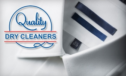 $35 Groupon to Quality Dry Cleaners - Quality Dry Cleaners in Centerville