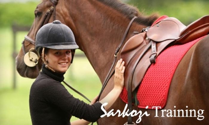 Sarkozi Training Centre - Virginia Beach: $25 for a One-Hour Horseback-Riding Lesson at Sarkozi Training Centre