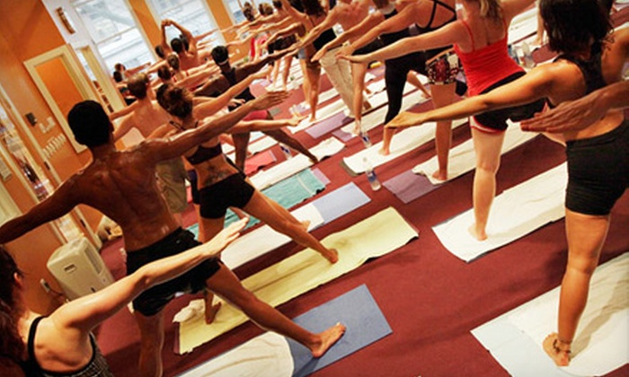 Bikram Yoga NYC - Multiple Locations: $59 for One Month Unlimited Bikram Yoga at Bikram Yoga NYC ($180 value). Three Month Option Also Available.