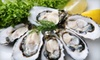 Half Off Fresh Oysters from Hood Canal Seafood